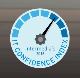 Intermedia's 2016 IT Confidence Index Share