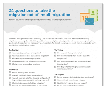 Frequently asked questions on migration and health