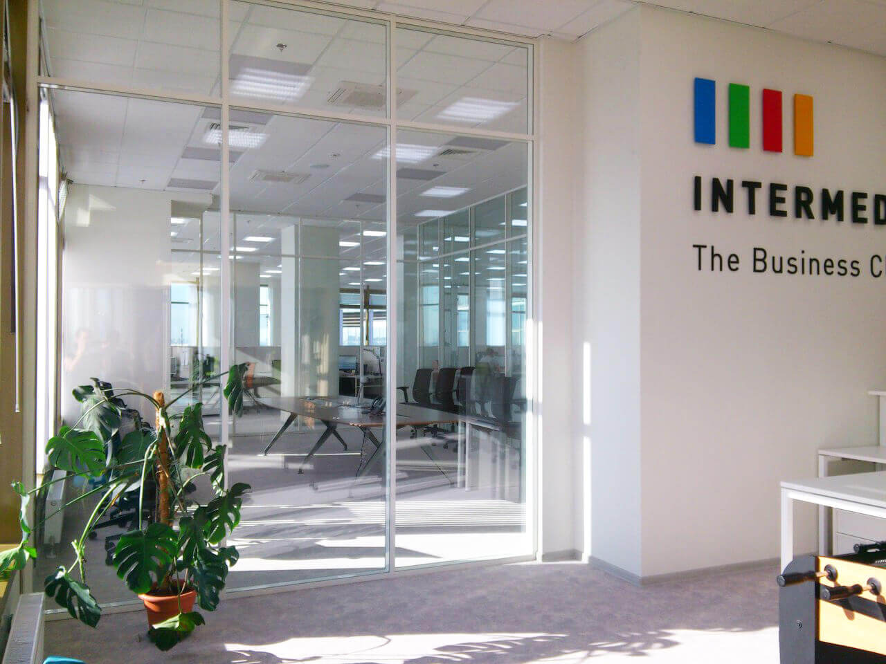 intermedia's St. Petersburg office