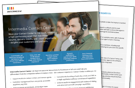 Datasheet for Contact Center