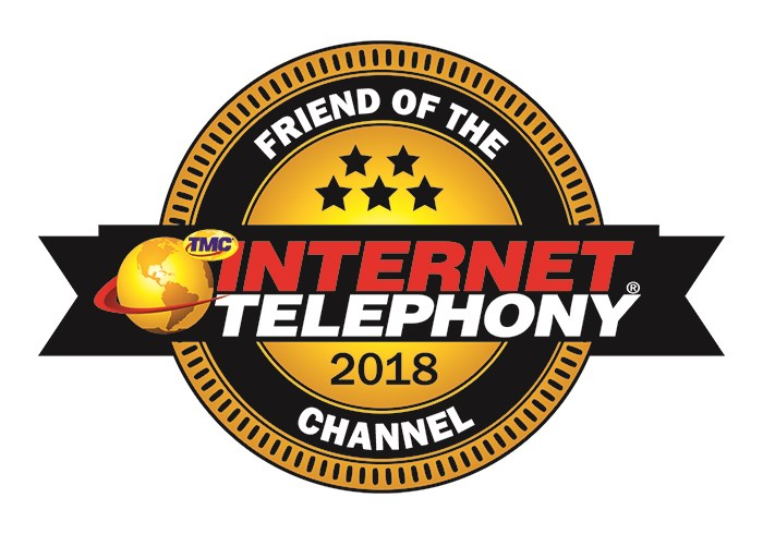 Intermedia wins Most Proven in Internet Telephony 2018 Friend of the Channel