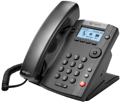 Polycom VVX 201 2-line IP Phone