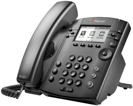 Polycom VVX 300 6-Line IP Phone
