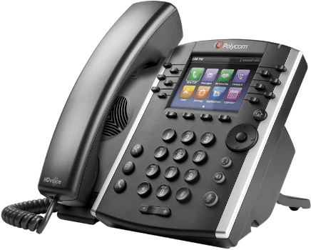 Polycom VVX 410 12-Line IP Phone
