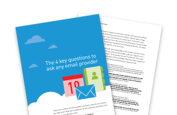 The 4 key questions to ask any email provider