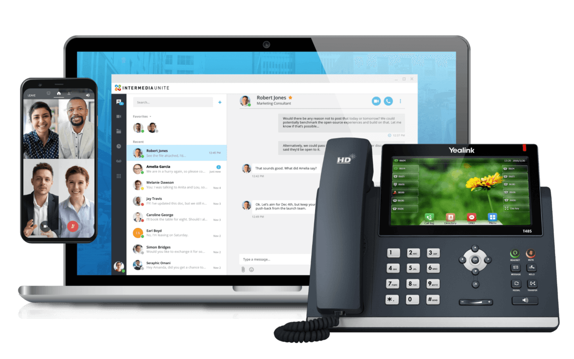 Intermedia Unite - Reliable, secure, all-in-one communications