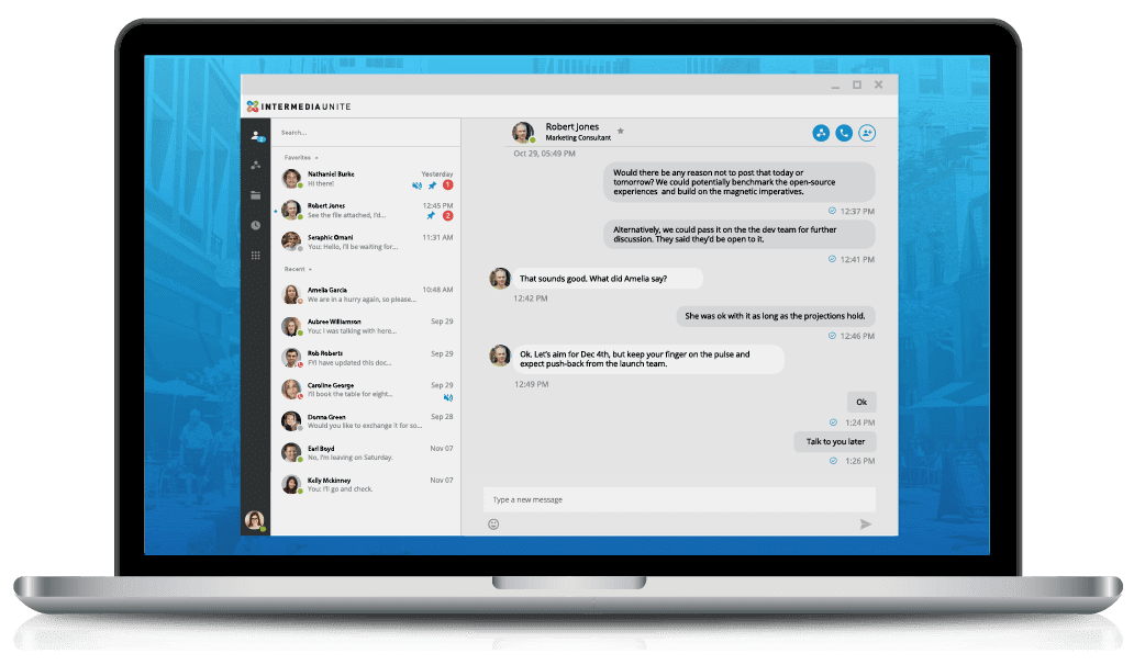 Make your desk phone more powerful than ever with the Intermedia Unite Desktop App