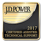 J.D. Power 2017 Certified Assisted Technical Program