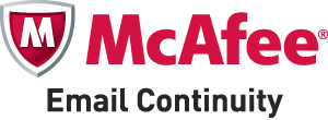 McAfee Email Continuity keeps your email up and running