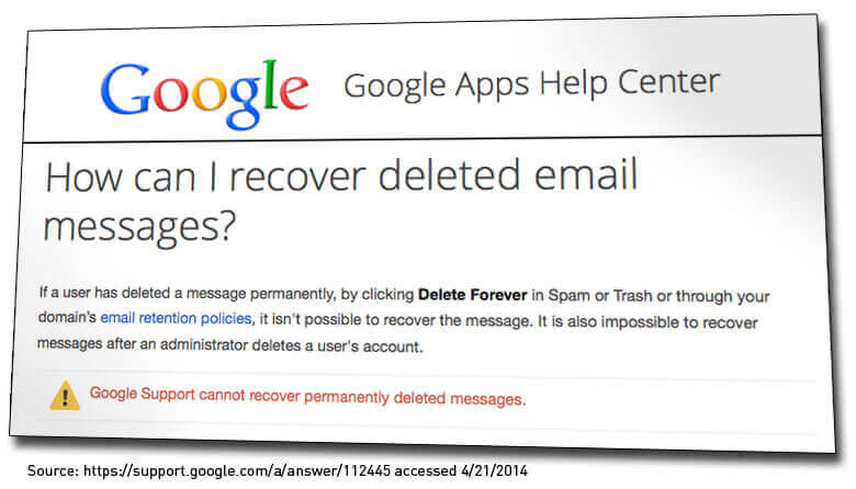 google apps restore deleted emails