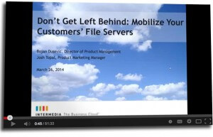 webinar on replacing file servers with file sync and share