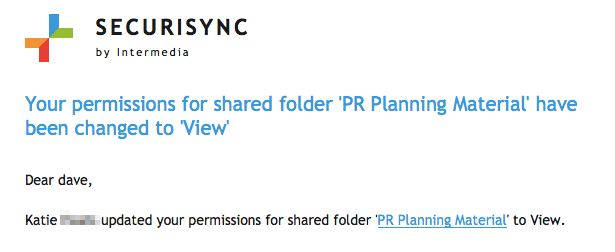 file sync external sharing privacy control permissions
