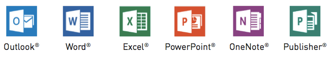 office 365 productivity apps