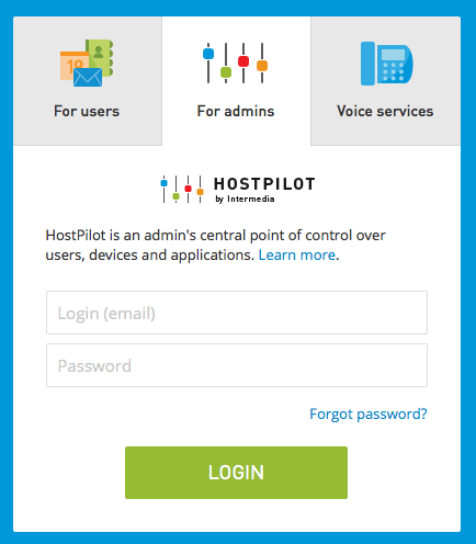 hostpilot login