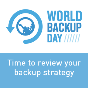 View post: It's World Backup Day! The perfect reason to review your backup strategy