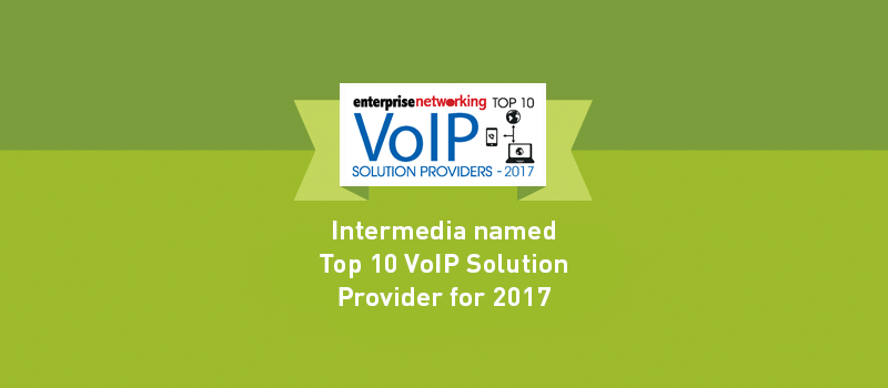 View post: Intermedia named a Top 10 VoIP Solution Provider in 2017 by Enterprise Networking Magazine