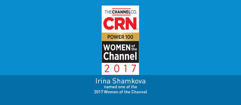 View post: Irina Shamkova of Intermedia named one of CRN's  2017 Women of the Channel and Power 100