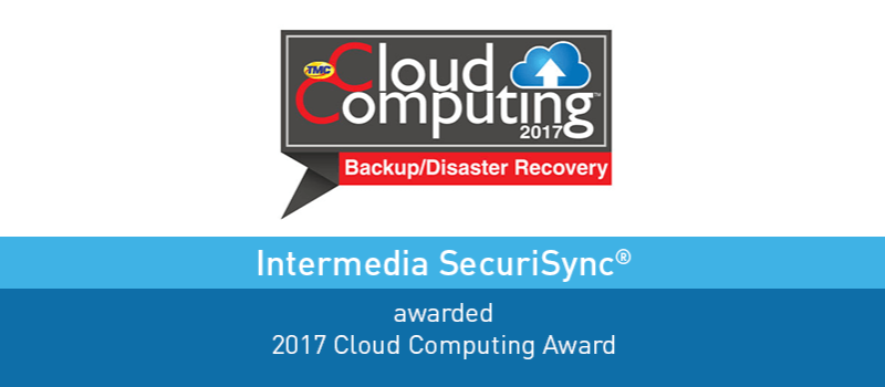 View post: Intermedia SecuriSync Receives Backup and Disaster Recovery Award