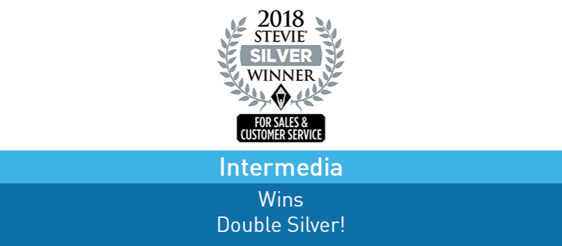 View post: Intermedia Wins 2 Coveted 2018 Stevie Awards