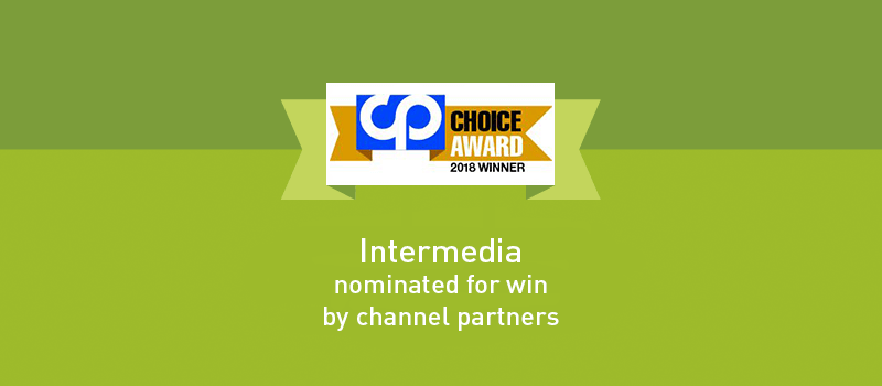 View post: Intermedia Honored with 2018 Channel Partners Choice Award
