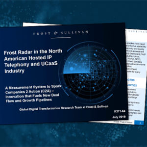 View post: Frost & Sullivan names Intermedia a Top 5 North American Hosted IP Telephony and UCaaS Provider for 2019